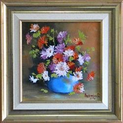 Picturi cu flori UN MIC BUCHET 2