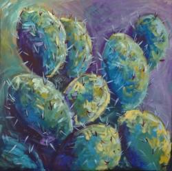 Picturi cu flori Cactusi