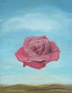 Picturi cu flori Meditative rose