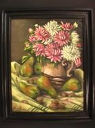 Picturi cu flori Pere si nuci
