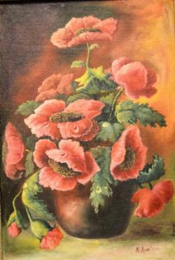 Picturi cu flori Maci 0