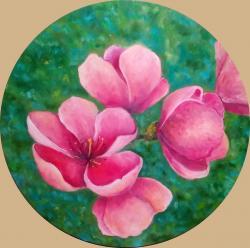 Picturi cu flori Flori de mar 3