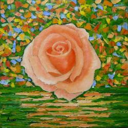 Picturi cu flori Trandafir - 9