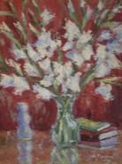 Picturi cu flori Gladiole