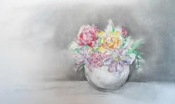 Picturi cu flori Florile mele