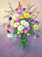 Picturi cu flori Buchet cu flori de camp