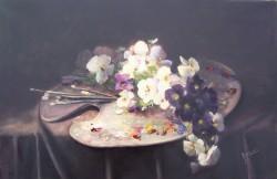 Picturi cu flori Panselute