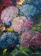 Picturi cu flori Ortensii