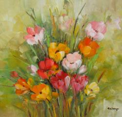 Picturi cu flori Frezii.