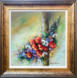 Picturi cu flori Buchet multicolor