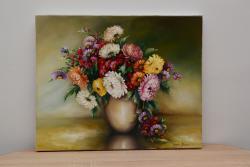 Picturi cu flori Crizanteme