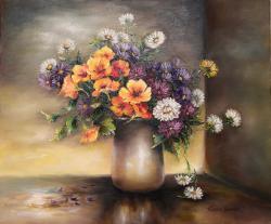 Picturi cu flori Flori si condurasi
