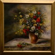 Picturi cu flori Florile campului