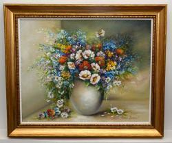 Picturi cu flori Parfum si culoare