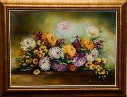 Picturi cu flori Parfumul Crizantemelor