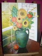 Picturi cu flori Compozitie cu flori