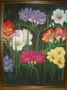 Picturi cu flori Frezii