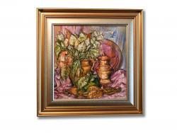 Picturi cu flori Vase Vechi cu Flori
