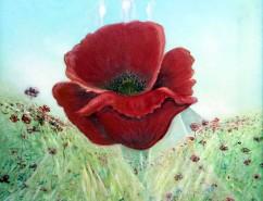 Picturi cu flori Sanzienele.floral.000