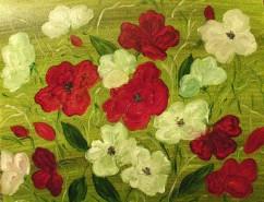 Picturi cu flori Bicolor