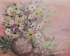Picturi cu flori Buchet de flori multicolor