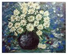 Picturi cu flori Buchet de margarete