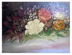Picturi cu flori Buchet de primavara