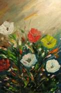 Picturi cu flori Bucuria culorilor