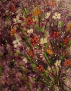 Picturi cu flori Crengute inflorite