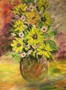 Picturi cu flori Floricele