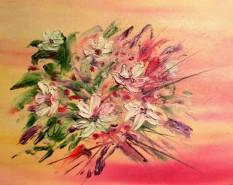 Picturi cu flori Glasul florilor