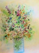 Picturi cu flori Gustul primaverii