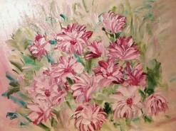 Picturi cu flori Roz