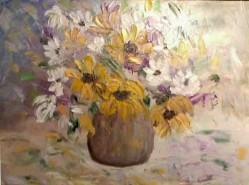 Picturi cu flori Ulcica cu flori