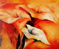 Picturi cu flori CRINI IMPERIALI 01