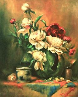 Picturi cu flori FLORI 016