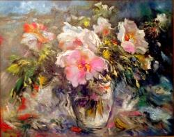 Picturi cu flori flori 019