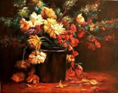Picturi cu flori Flori 08