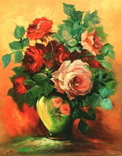 Picturi cu flori FLORI 40 a