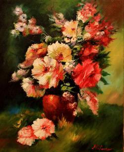 Picturi cu flori FLORI 58