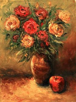 Picturi cu flori TRANDAFIRI 101