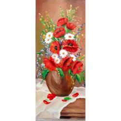 Picturi cu flori Flori de vara 001