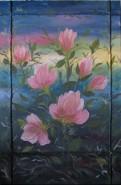 Picturi cu flori Flori de maracine
