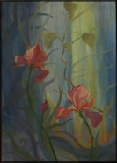 Picturi cu flori Irisi-fantezie