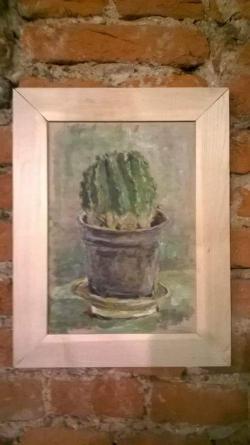 Picturi cu flori Cactus la expo