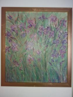 Picturi cu flori Irisi 2016