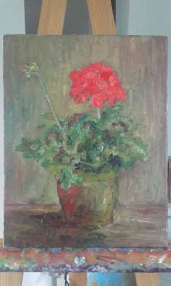 Picturi cu flori Muscata 1