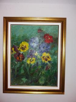 Picturi cu flori PANSELUTE A