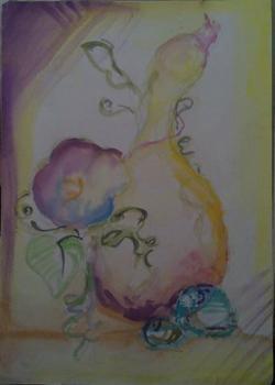 Picturi cu flori tartacute inflorate