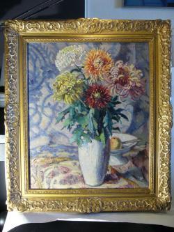 Picturi cu flori crizanteme 222
